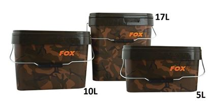 Picture of Fox Camo Heavy Duty Square Bucket
