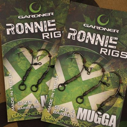 Picture of Gardner Ready Tied Ronnie Rigs (Pack of 3)