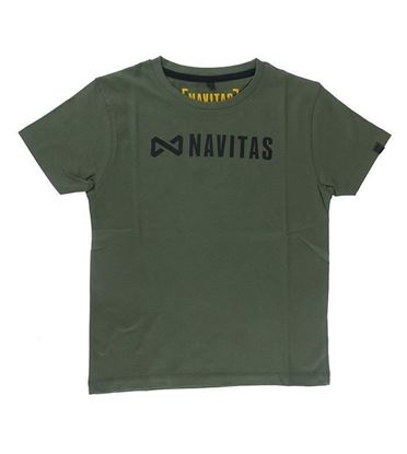 Picture of Navitas Core Kids Green Tee T Shirt