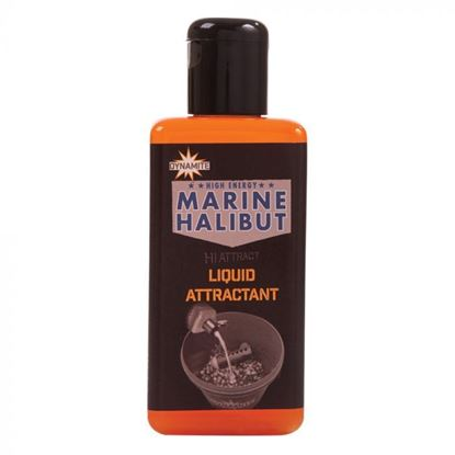Picture of Dynamite Baits Marine Halibut Liquid Attractant 250ml