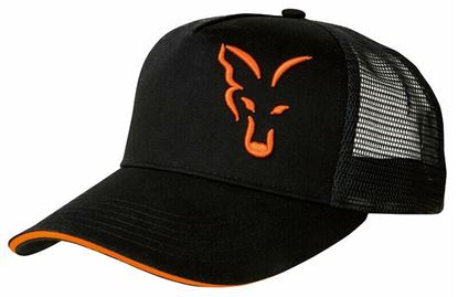 Picture of Fox Black & Orange Trucker Cap