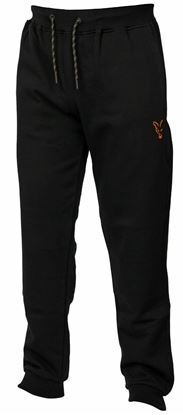 Picture of Fox Collection Black Orange Joggers
