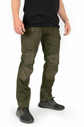Picture of Fox Collection HD Green Un-lined Cargo Trousers