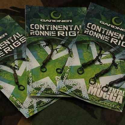 Picture of Gardner Ready Tied Continental Ronnie Rigs (Pack of 3)