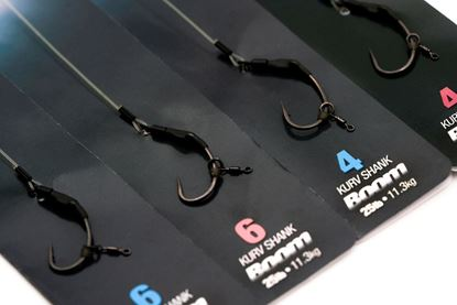 Gardner Continental Ronnie Rigs X-STRONG 3 Per Pack PRE TIED SPINNER RIG