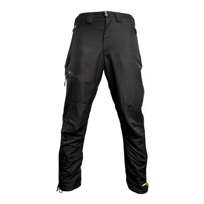 Picture of Ridgemonkey APEarel Dropback Heavyweight Black Cargo Trousers