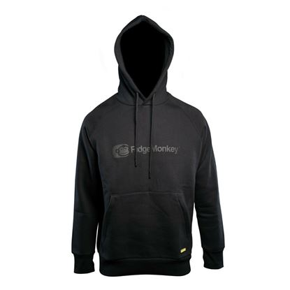 Picture of Ridgemonkey APEarel Dropback Heavyweight Black Hoodie