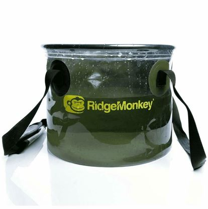 Picture of Ridgemonkey 10L Perspective Collapsible Water Bucket 50/50