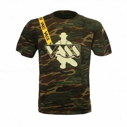 Picture of Vass Camo T-Shirt with Yellow Vass Strap