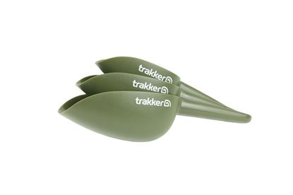 Picture of Trakker Bait Scoop Spoon Set of 3 baiting spoon